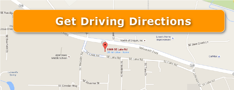 Get driving directions button
